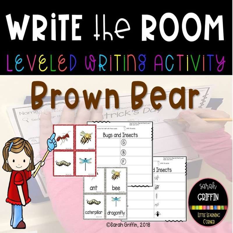 Write the Room: Brown Bear