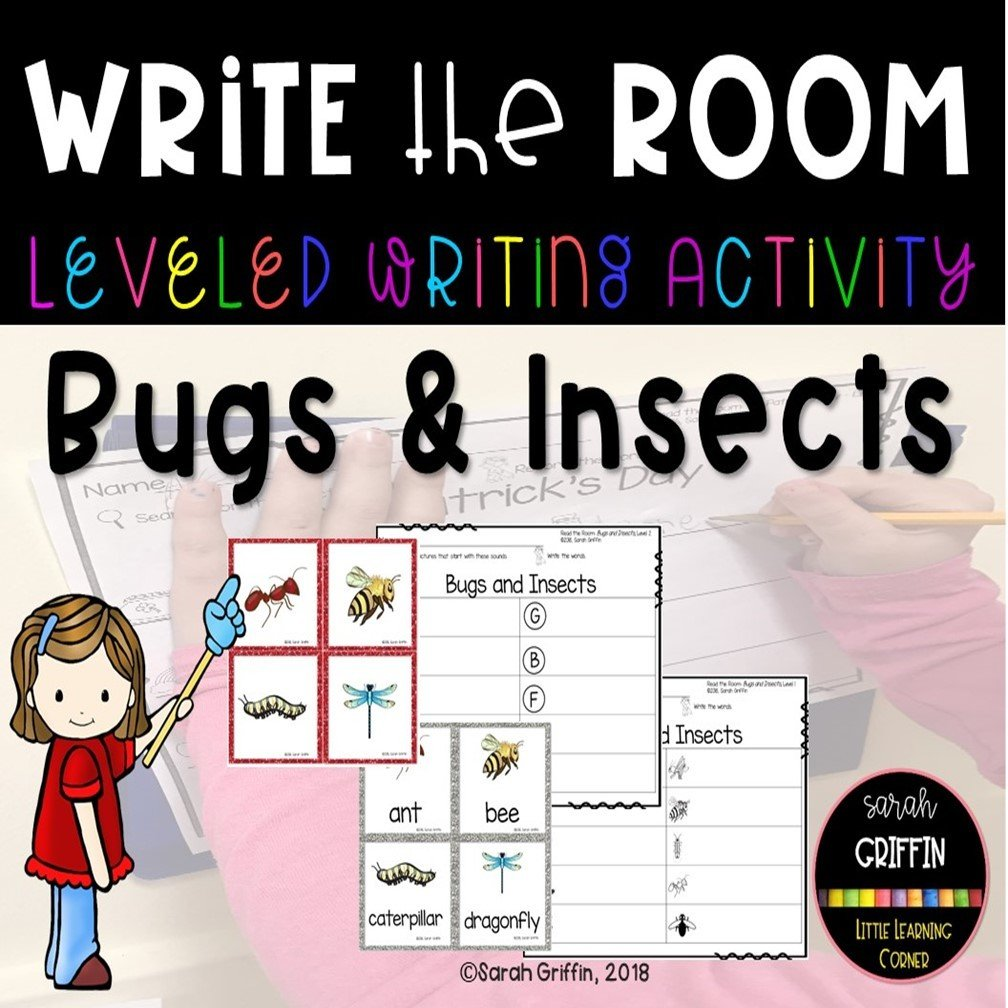 Write the Room: Bugs and Insects