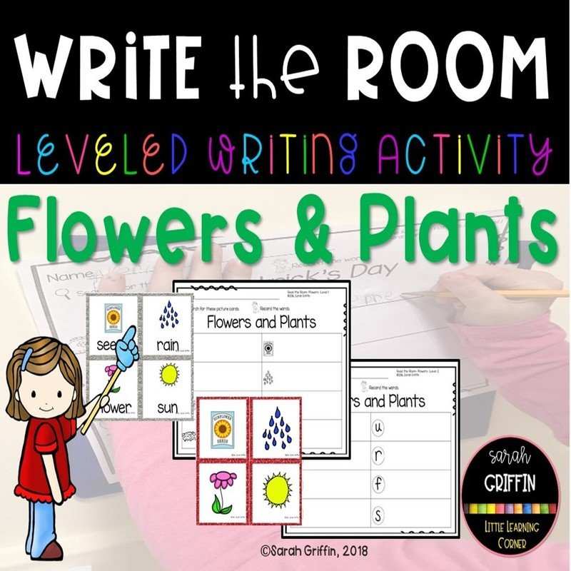 Write the Room: Flowers and Plants