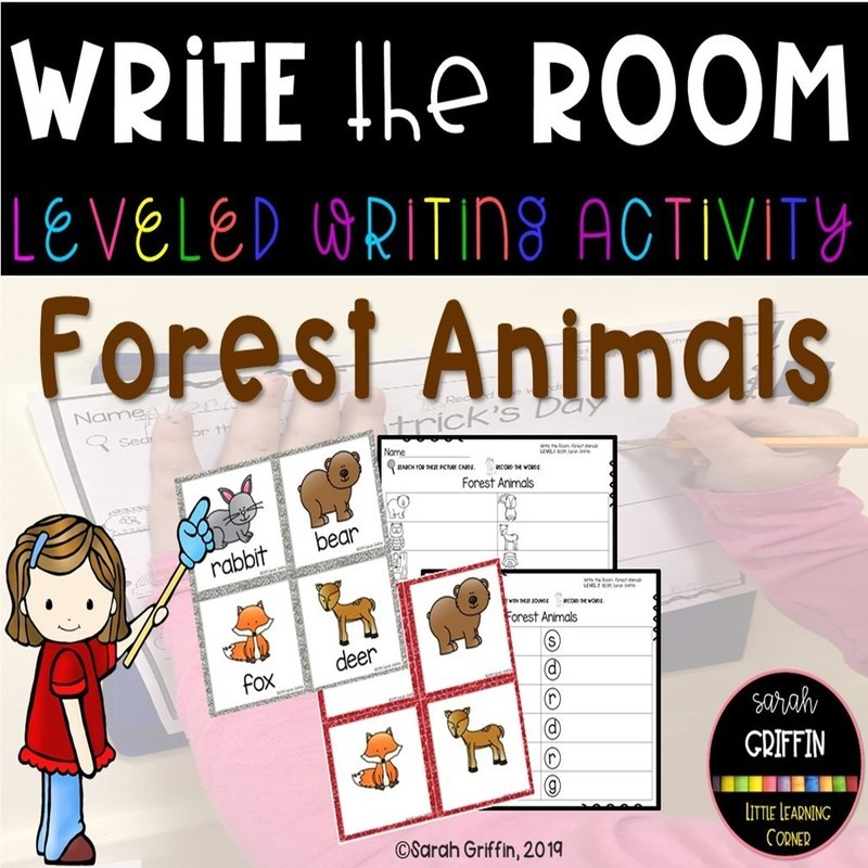 Write the Room: Forest Animals