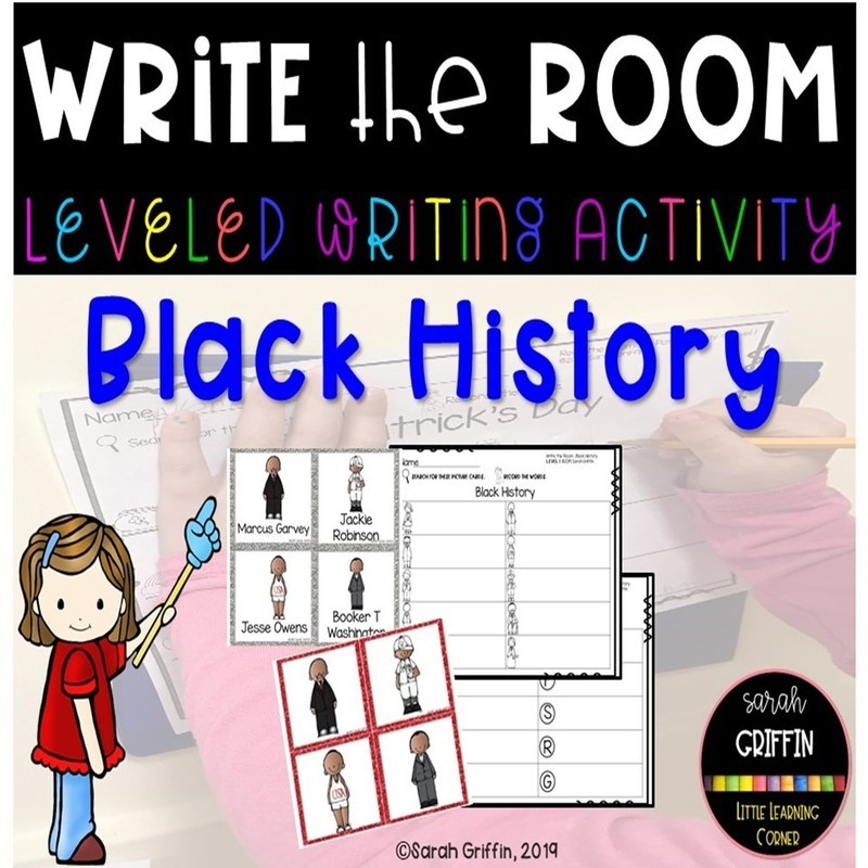 Write the Room: Black History Month