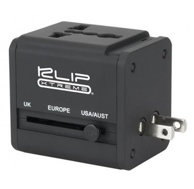 Klip Xtreme KMA-150 | Adaptador universal para viajes - 2 USB