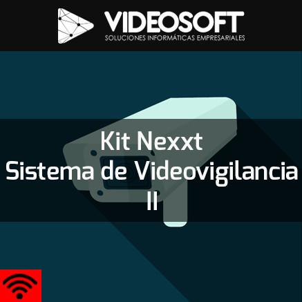 Kit Nexxt Sistema de Videovigilancia | Kit Nexxt Xpy 1280 + Cámaras + Disco DuroWD + Disco Duro Lacie + Caja montaje + Placa montaje + Módulo RJ45 + Connector RJ45 + Cable UTP + Back-UPS