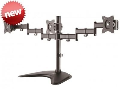 Klip Xtreme KPM-321 | Soporte para tres monitores hasta 27