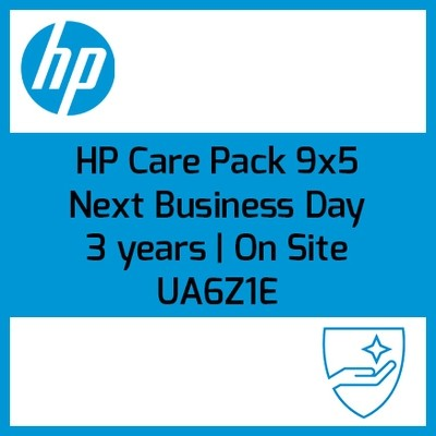 HP Care Pack 9x5 On site | Next Business Day (Al siguiente día laborable | 3 años