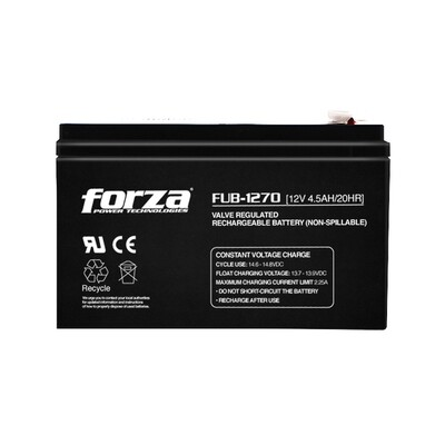 Forza FUB-1270 | Batería de reemplazo para UPS