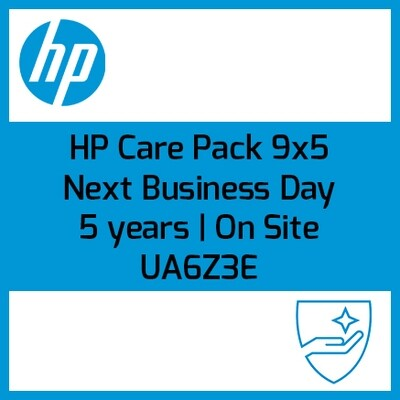 HP Care Pack 9x5 On site | Next Business Day (Al siguiente día laborable | 5 años