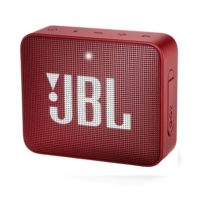 JBL GO 2   Portable Speaker   Color Rojo Rubí