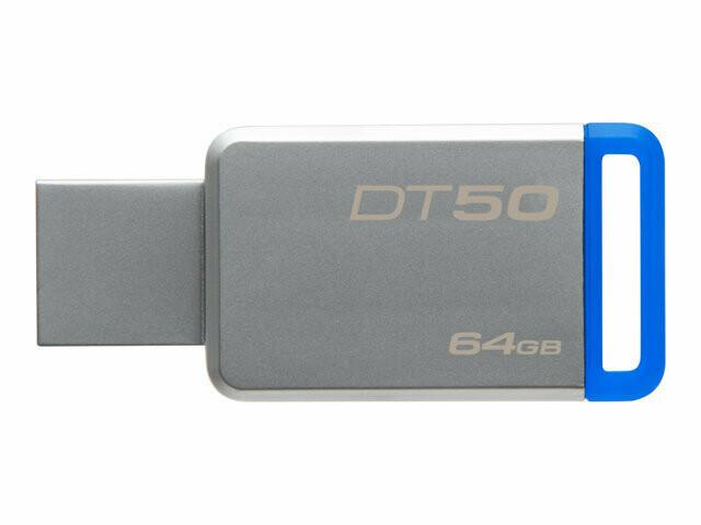 Kingston DataTraveler 50 | Unidad Flash USB | 64GB