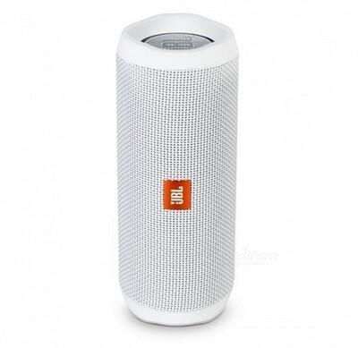 JBL Flip 4   Waterproof Bluetooth Speaker   Color Blanco