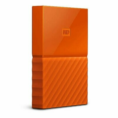 Western Digital My Passport | Disco Duro Cifrado | 1TB | Color Naranja