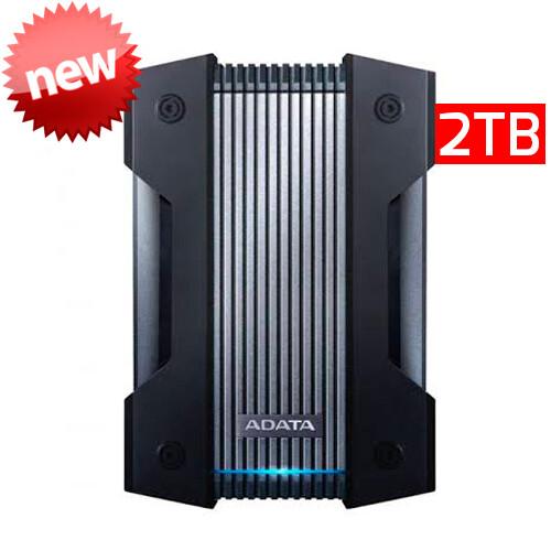Adata HD830 | Disco Duro Externo | 2TB | Color Negro