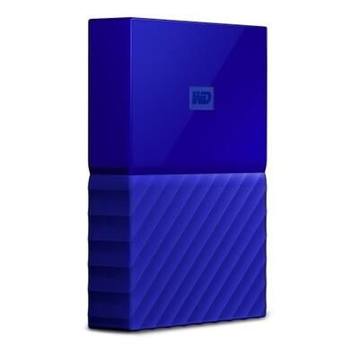 Western Digital My Passport | Disco Duro Cifrado | 2TB | Color Azul