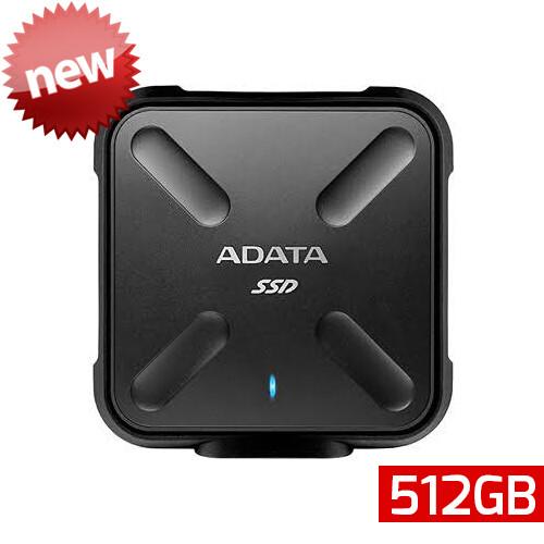 Adata SD700 SSD | Unidad en Estado Sólido Portátil | 512GB | Color Negro