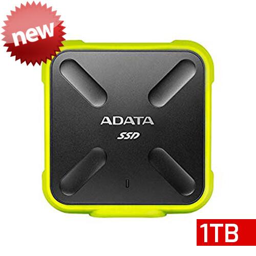 Adata SD700 SSD | Unidad en Estado Sólido Portátil | 1TB | Color Amarillo