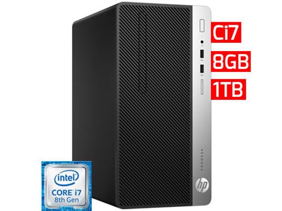 HP ProDesk 400 G5 SFF   Ci7 - 8GB - 1TB HDD