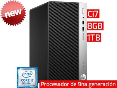 HP ProDesk 400 G6 SFF | Ci7 - 8GB - 1TB HDD