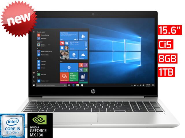 """HP ProBook 450 G6   15.6"""" - Ci5 - 8GB - 1TB HDD - MX130 2GB"""