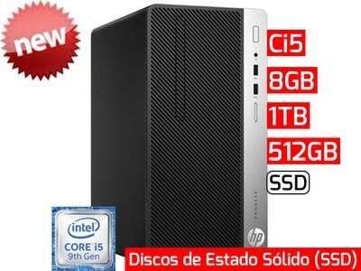 HP ProDesk 400 G6 SFF | Ci5 - 8GB - 512GB SSD