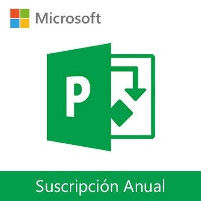 Microsoft Project Online | Suscripción Anual por usuario