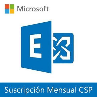 Exchange Online | Suscripción Mensual (CSP) por usuario