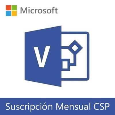 Microsoft Visio Online | Suscripción Mensual (CSP) por usuario