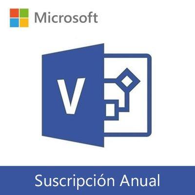Microsoft Visio Online | Suscripción Anual por usuario