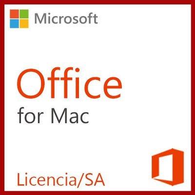 Office Standard para Mac | Licencia/SA (Licencia con Software Assurance) Corporativa OPEN