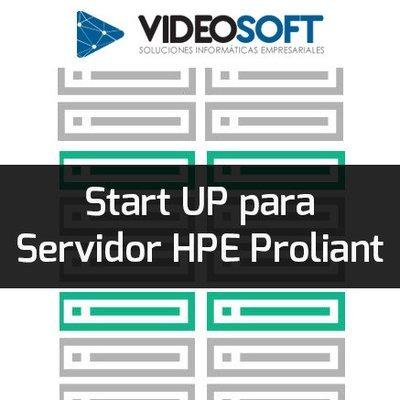 Start UP (hardware) para Servidor HPE Proliant