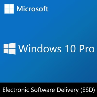 Windows 10 Pro | Licencia ESD (Electronic Software Delivery)