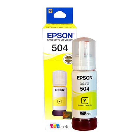 Epson Tinta Líquida T504420 | Color Amarillo