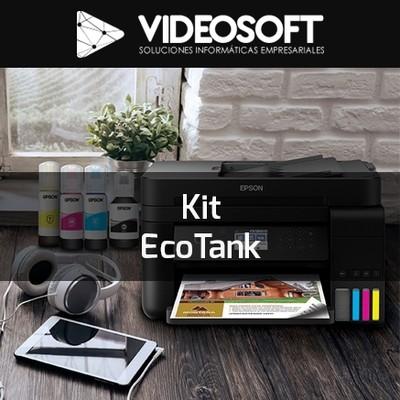 Kit EcoTank | Impresora Epson+ Tintas EcoTank