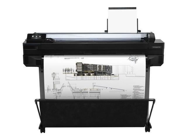 "HP DesignJet T520   Impresora Plotter 36"""