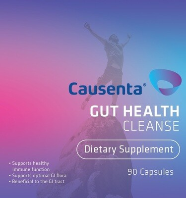 Gut Health Cleanse - Wormwood, Olive Leaf Extract and Berberine