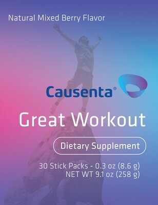 Great Workout -Vitamin B12, Green tea extract and Caffeine