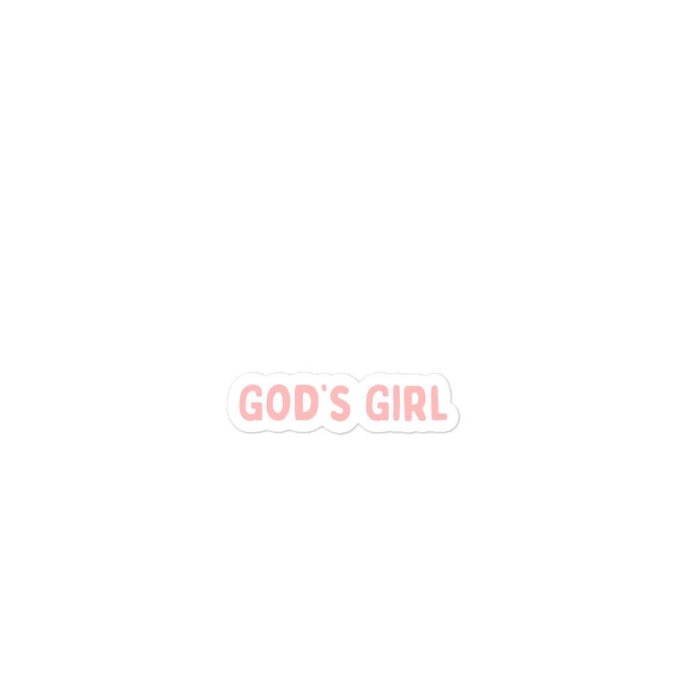 God's girl sticker