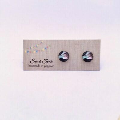 Floating Ink (Small) Earrings