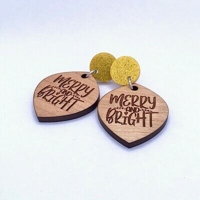 'Merry & Bright' (Gold Top)