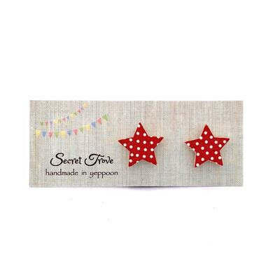 Red Star Studs