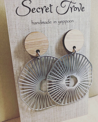 Bamboo Top Sea Circle Dangles