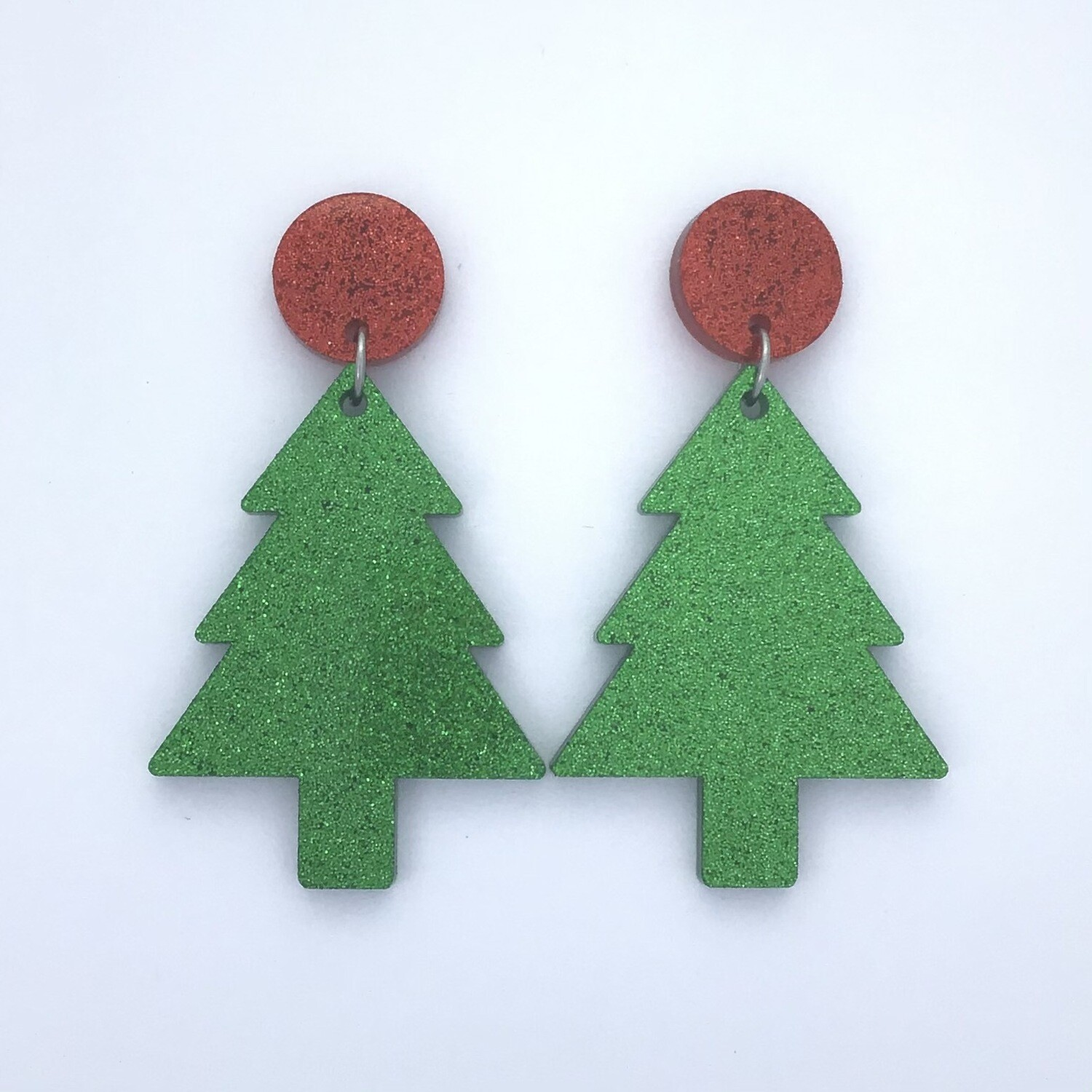 Red Top Christmas Dangles