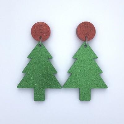 Red Top Christmas Dangles