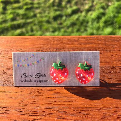 Glitter Strawberries