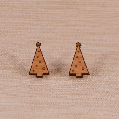 Tall Christmas Tree Wooden Studs