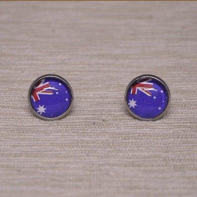 Australia Flag Earrings