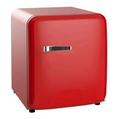 SNOMASTER - 50L RED RETRO BAR FRIDGE