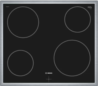 BOSCH - 4 PLATE ELECTRIC HOB