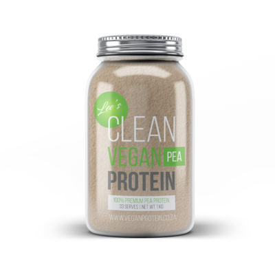 Pea Protein Powder Isolate - 1Kg in Glass Jars 00002