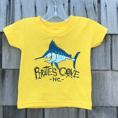 Happy Fish Toddler SS T-Shirt