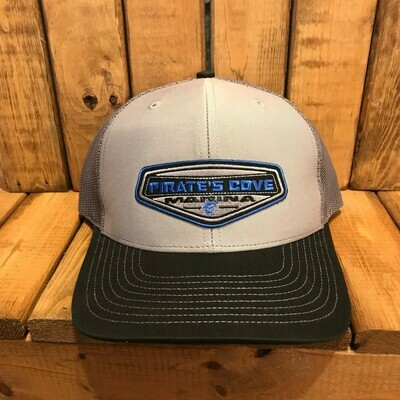 Pirate's Cove Embroidered Patch Trucker Hat (Richardson 112)